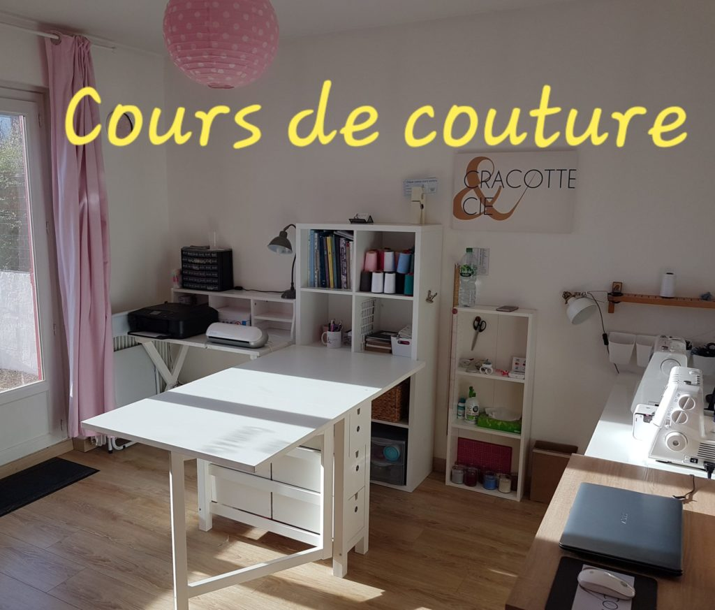 Atelier Cracotte et Cie Cours de couture - Cours de couture et tricot Angers